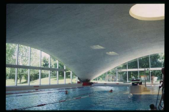 Hallenbad sportzentrum heimberg - Swimming pool structural engineer ...